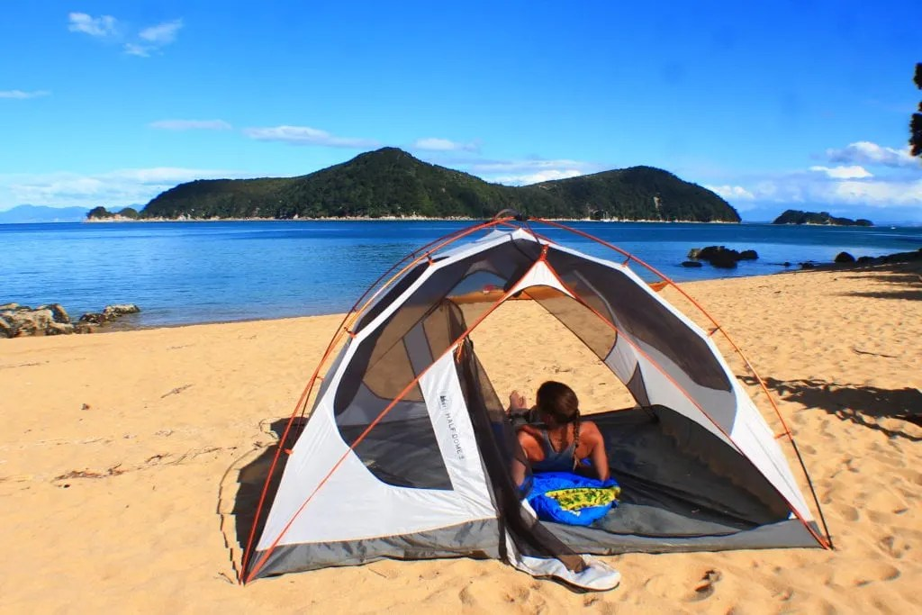 Observation Beach, How to backpack Abel Tasman: 3-4 day Abel Tasman Backpacking Itinerary