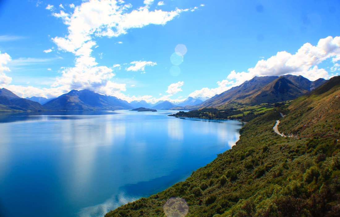 Mountains around Queenstown, 3 week New Zealand Road Trip Itinerary