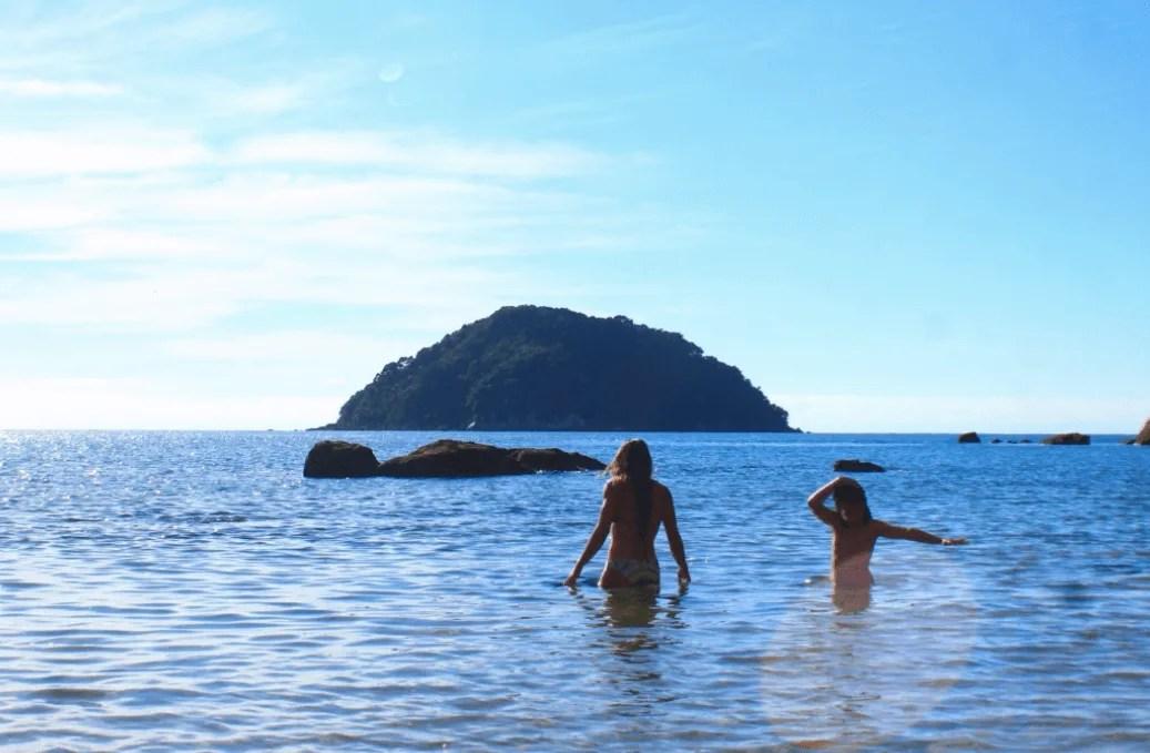 Onetahuti is a fantastic swimming beach