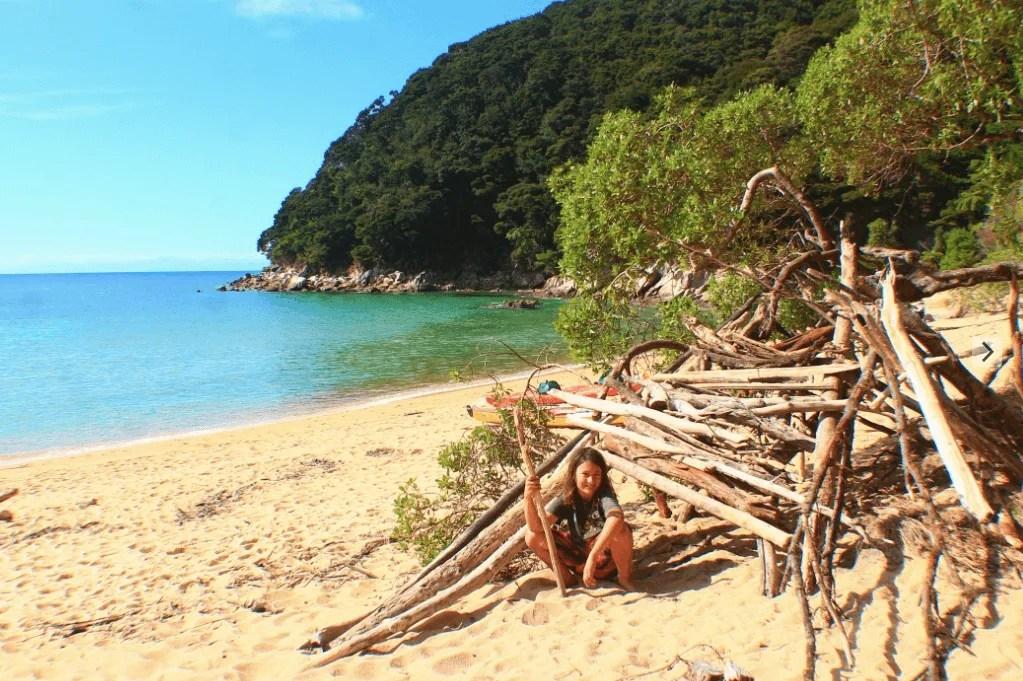 Onetahuti Beach, How to backpack Abel Tasman: 3-4 day Abel Tasman Backpacking Itinerary