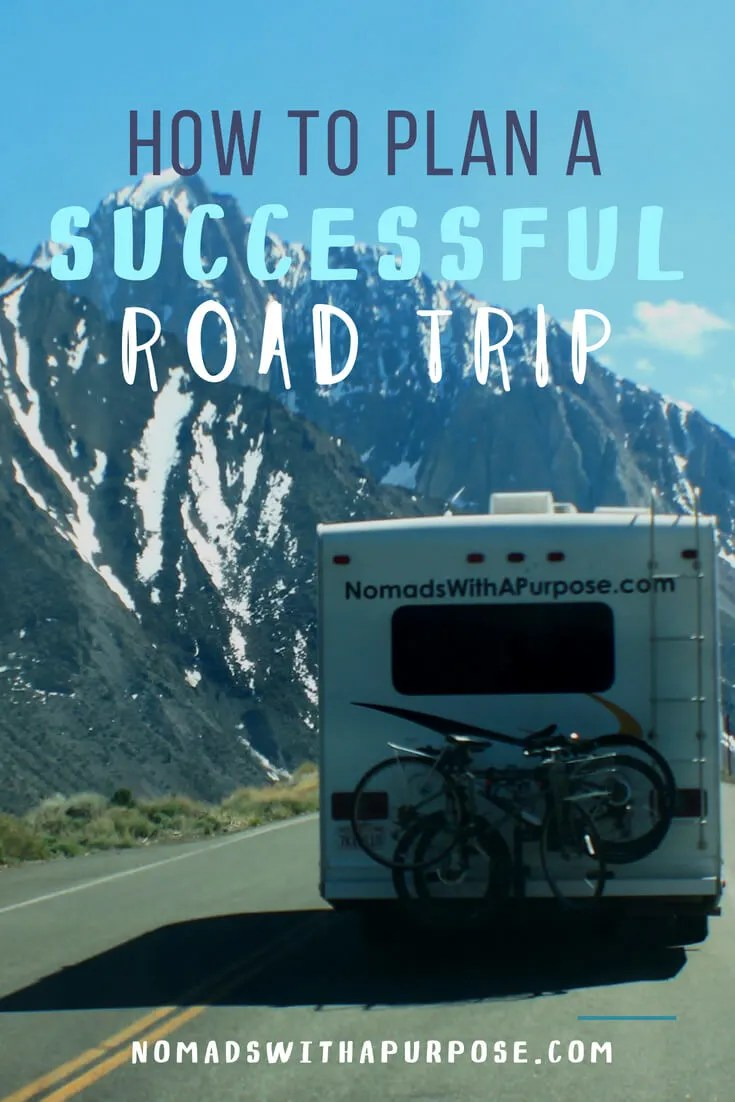 How to plan a successful road trip