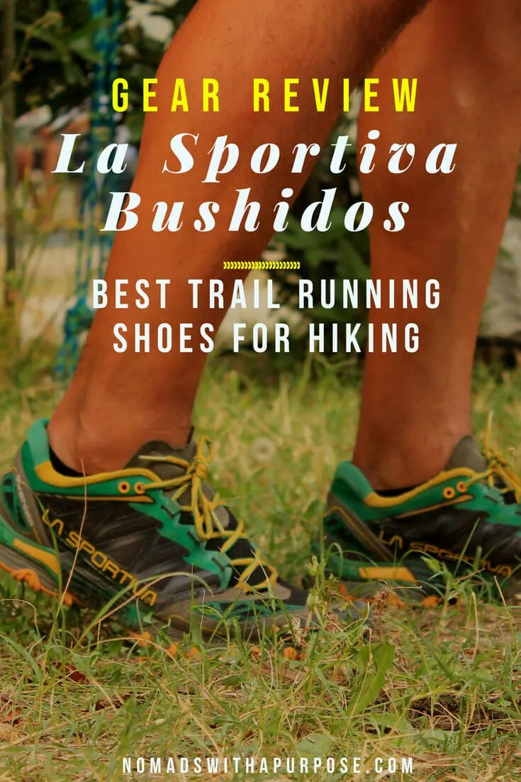 best trail running shoes for hiking: La Sportiva Bushido Review 3