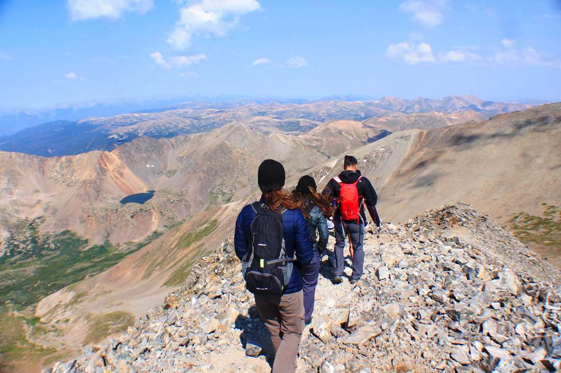 Hiking 14er Grays Peak, South Ridge: The Less Crowded Ascent