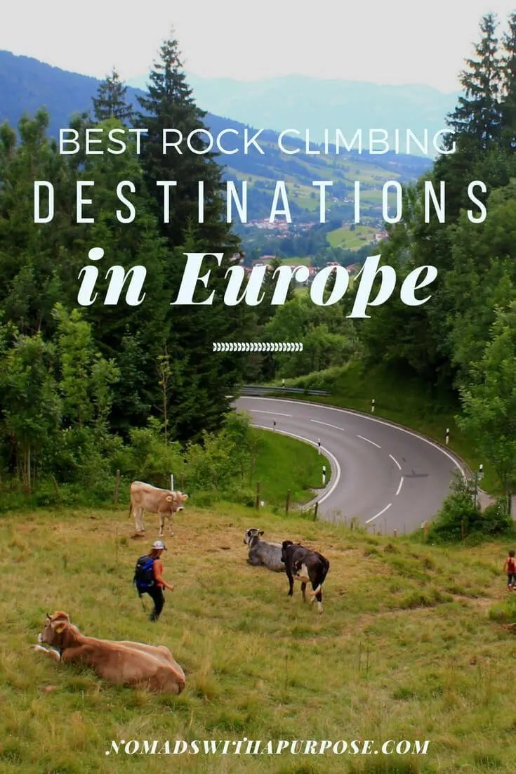 best rock climbing destinations in Europe