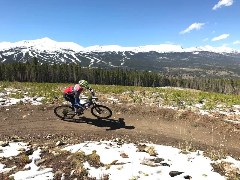 Slalom Singletrack, Best Mountain Biking in Breckenridge