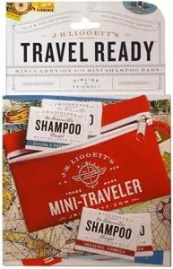 Travel Shampoo Pack by JR Ligget's, Gift guide for adventure travelers
