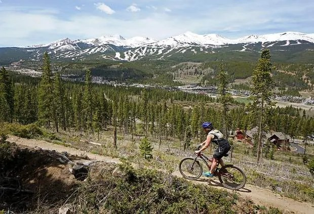 Flume Trail, Best Mountain Biking in Breckenridge