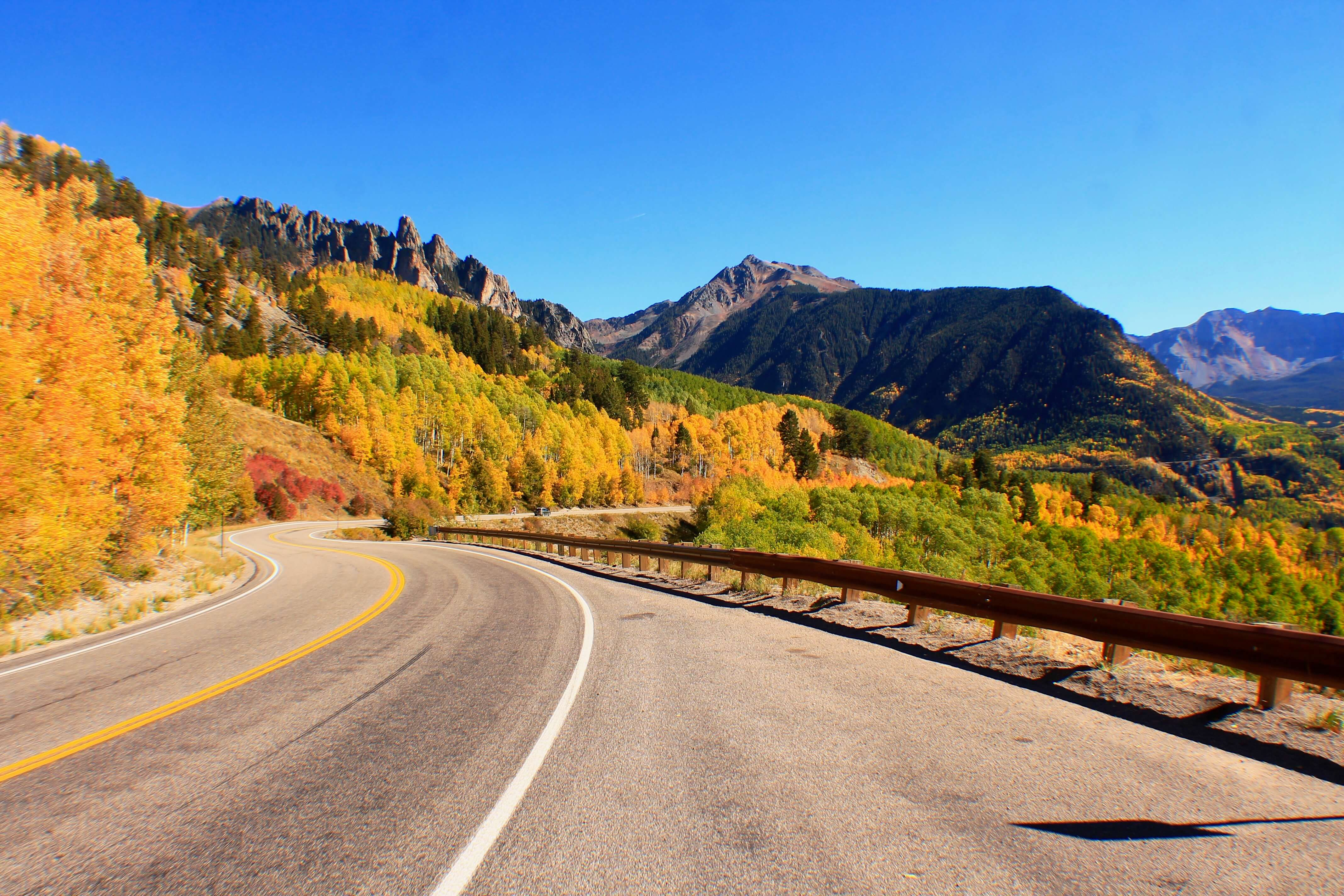 Drive a pass, things to do in Telluride in October