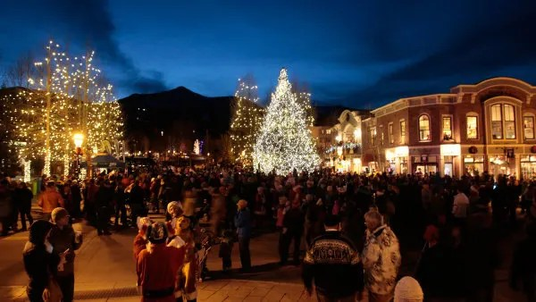 Tree Lighting Festival, Things to do in Summit County in Winter