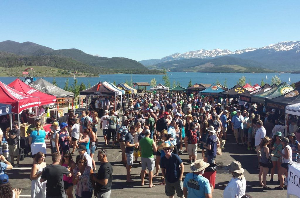 The scenic Dillon Farmers Market on the waterfront, Silverthorne Things to Do