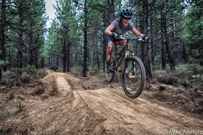 Mountain biking Bend, Lower Whoops