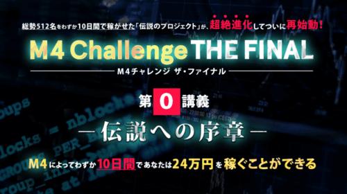 M4 Challenge THE FINAL 佐藤美咲