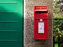 Souvenir postbox