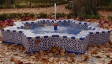 Tiled fountain, Maria Louisa park