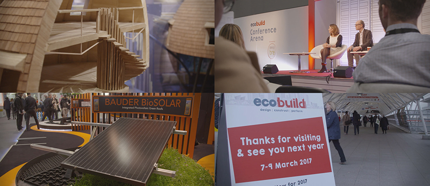 Various clips from our time at Ecobuild 2016