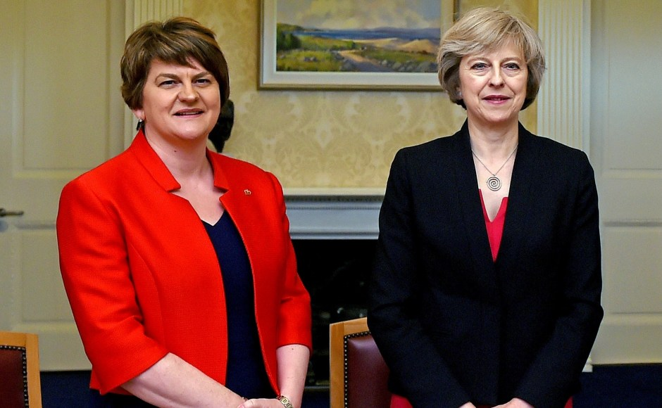 Conservatives-Theresa-May-DUP-Arlene-Foster-General-Election