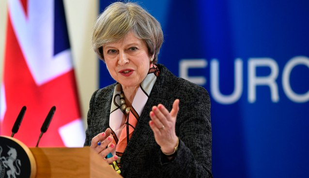 Theresa May European Council Summit