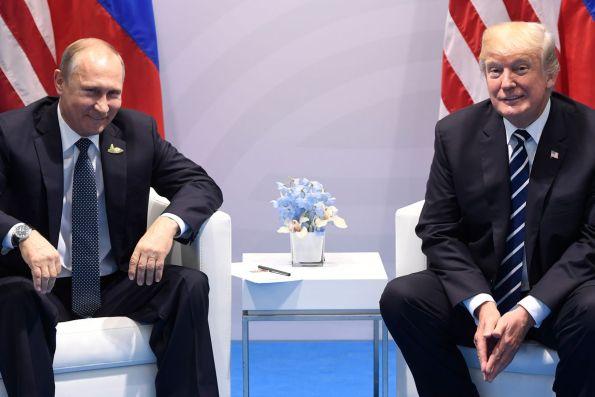 Trump Putin Meeting G20 2017