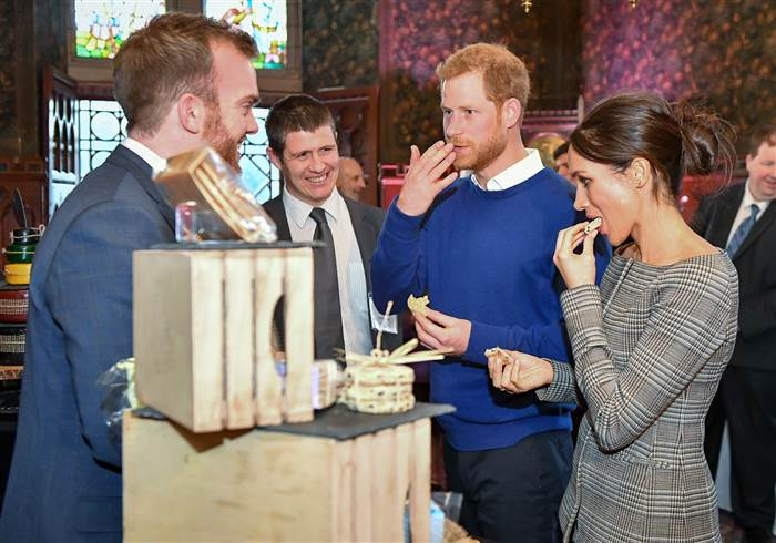 Harry Meghan Wedding Cake