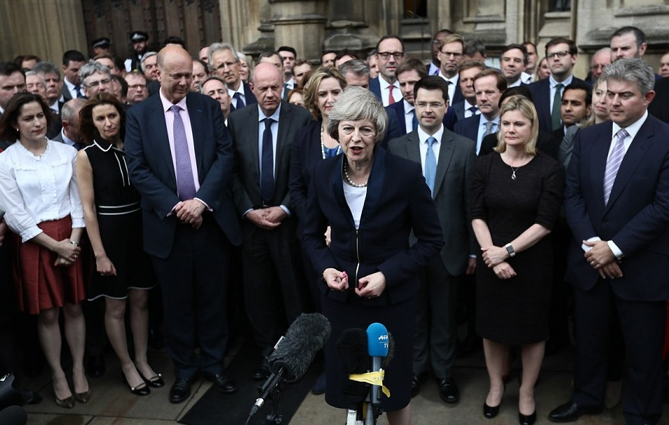 Theresa May Conservatives Resignations