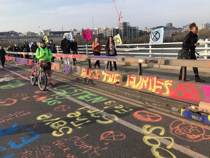 London Environmental Activists Art