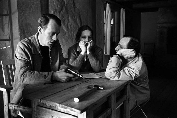 Ingmar Bergman & Max Von Sydow