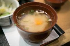 miso soup - ootoya chelsea