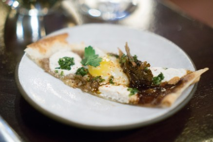 mushroom tarte - NoMad