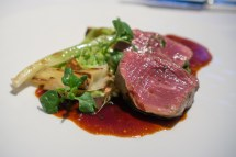 Beef Crusted in Comté with Baby Leeks and Chanterelles - The Mo
