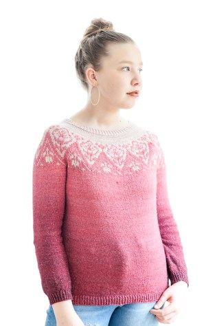 love affair sweater par Christelle Nihoul