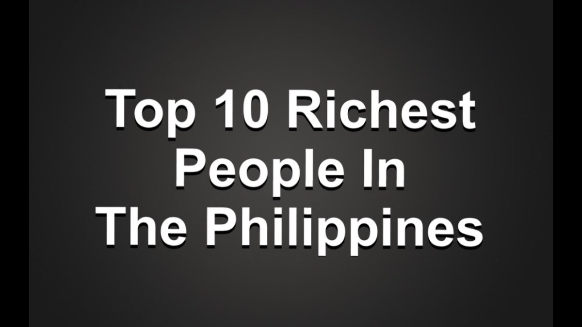Top 10 Richest People in the Philippines