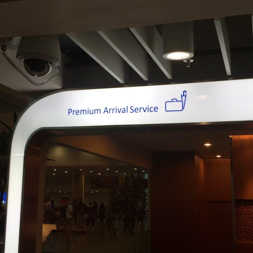 Garuda Indonesia Premium Arrival Service