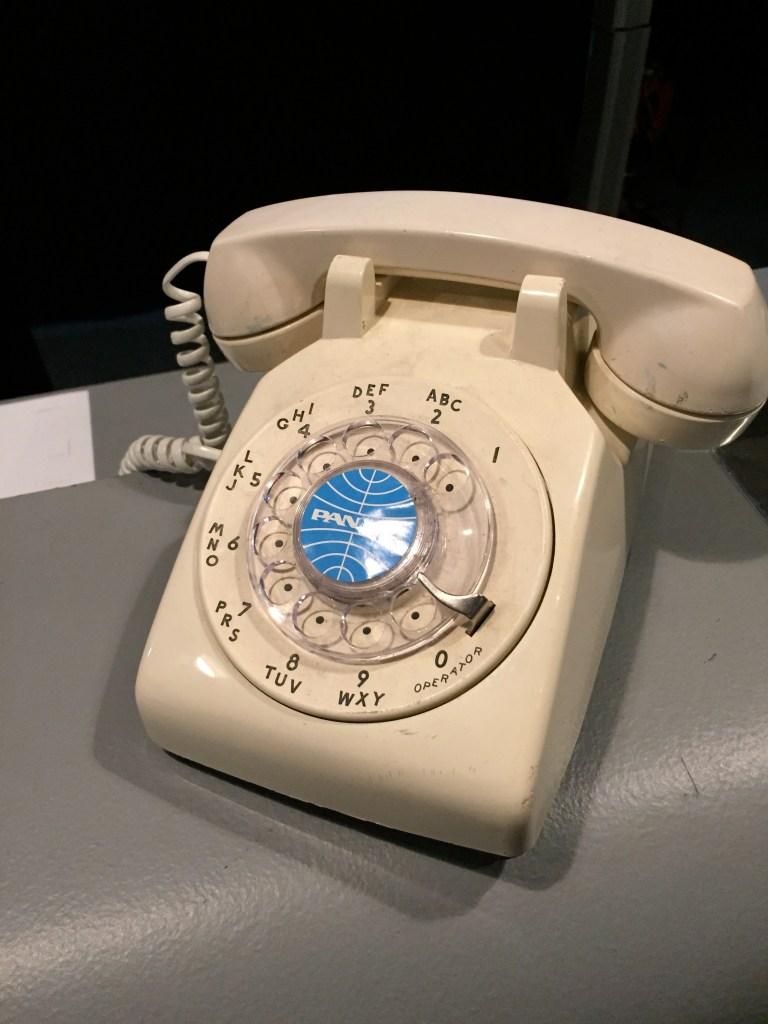 Pan Am rotary phone