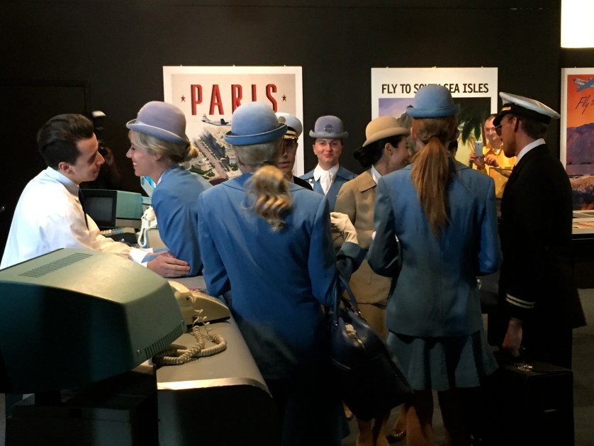 Pan Am Crew Check-in