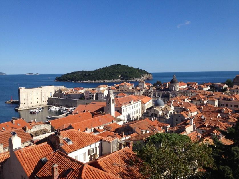 Dubrovnik, Croatia in the Summer