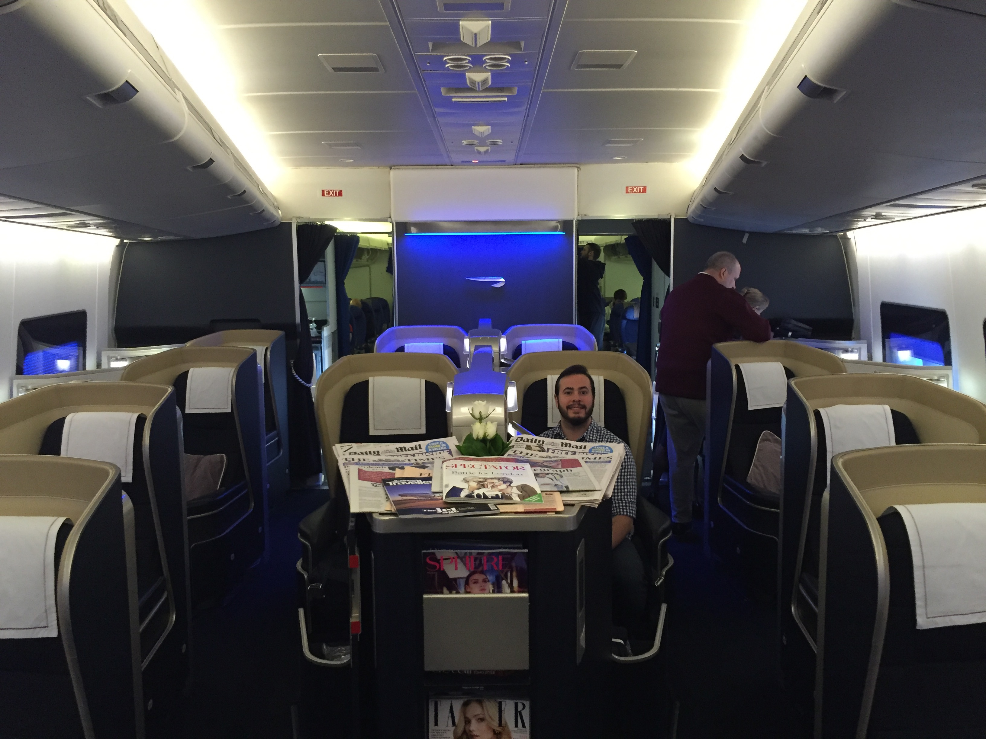 Can you afford to fly first class?