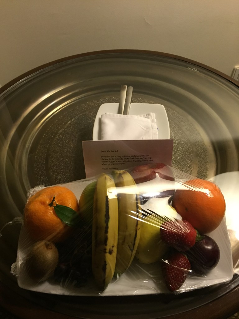 Hilton Luxor Fruit Basket
