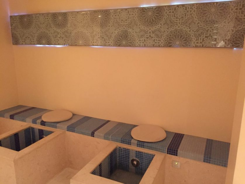 Seating area for Foot Bath
