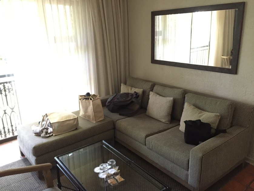 Protea Kruger suite sitting area