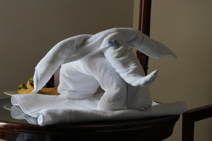 Towel Elephant, Luxor Hotel