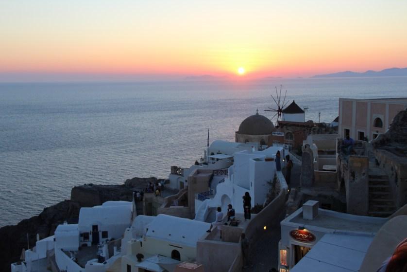 Atardecer en Santorini, Greece