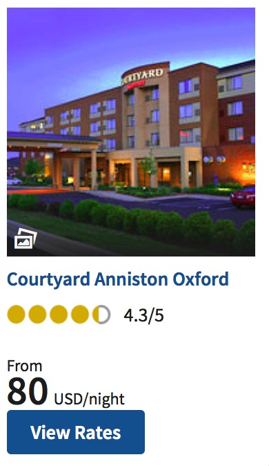 Oxford Alabama Courtyard Marriott
