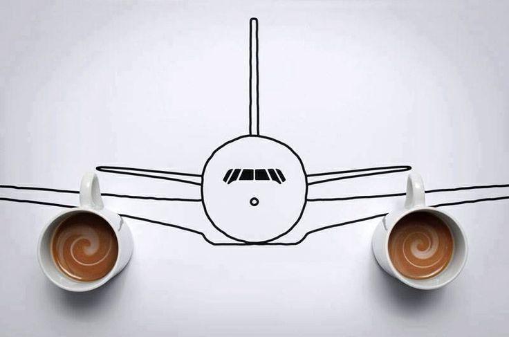 Airplane Coffee