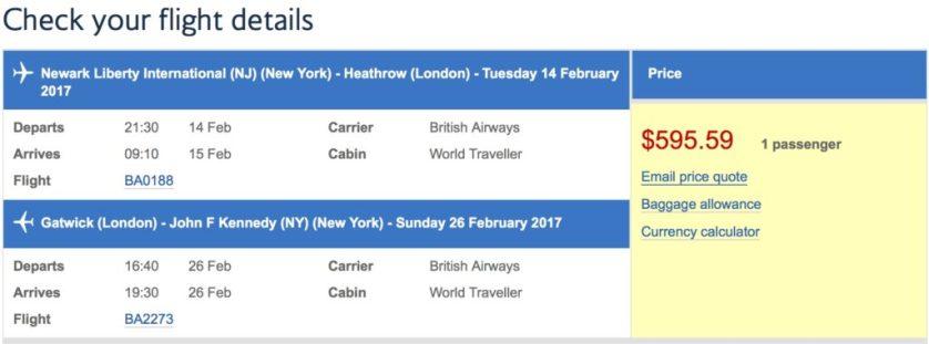 British Lower Coach Prices