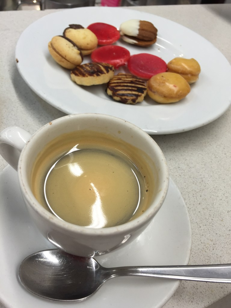 Espresso and sweets