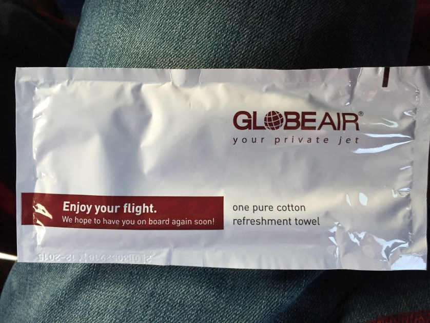 GlobeAir Refreshing Towel