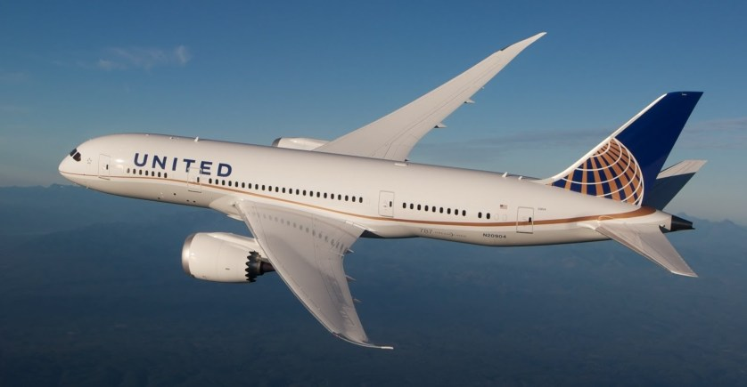 United Dreamliner via YouTube and Kris Trexler