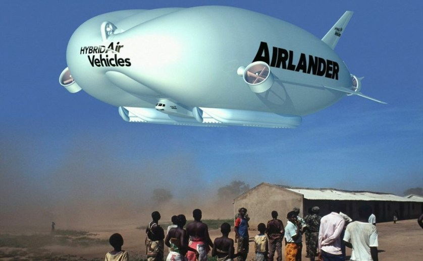 Airlander flying under the radar... from www.hybridairvehicles.com