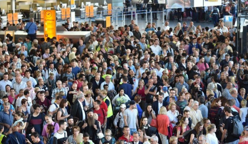 Passengers evacuated from Frankfurt Airport