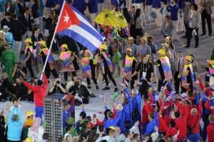 Cuba representing